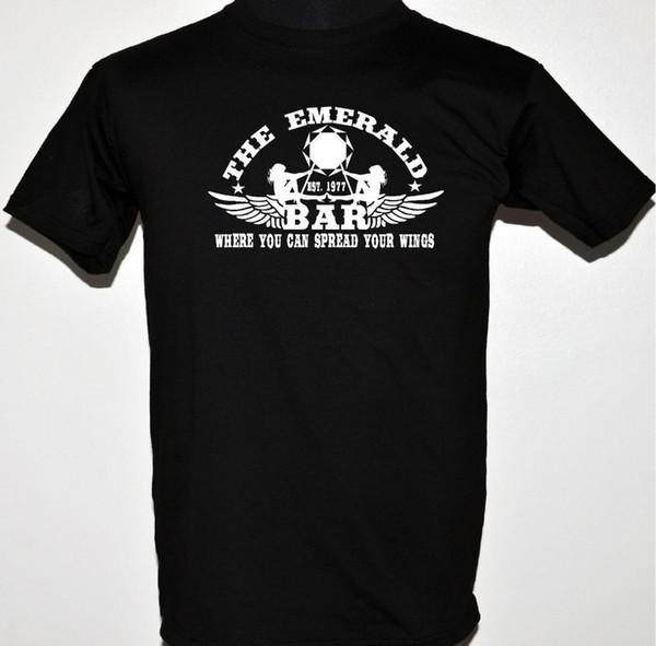 2019 Meilleurs T-shirts Reine T-Shirt inspirent Le Emeraude Barre En Gros Votre Wholesale Moins Évidente Modele Bande Logo Tee Shirt Pour Hommes