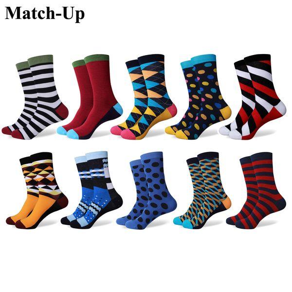 magasins d'usine officiel de vente chaude vaste gamme de Acheter Match Up Men's Mix De Couleurs Variées Avec Des Chaussettes  Colorées Amusantes Chaussettes En Coton Peigné es / De $34.72 Du Xiaolewu |  ...
