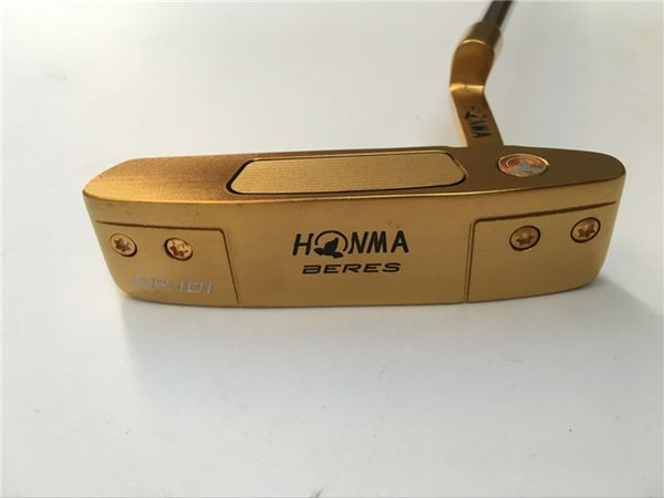Honma PP-101 Putter Honma Beres Golf Putter Honma Beres Golf Clubs 33/34/35 Inch Length Steel Shaft With Head Cover