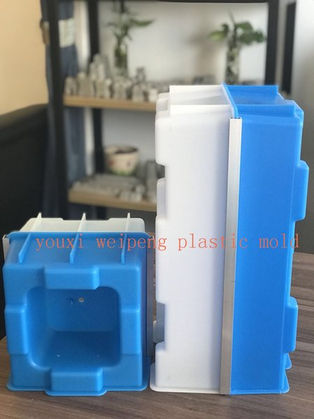 best selling Hollow Interlocking brick Mold for building house 400*200*200mm