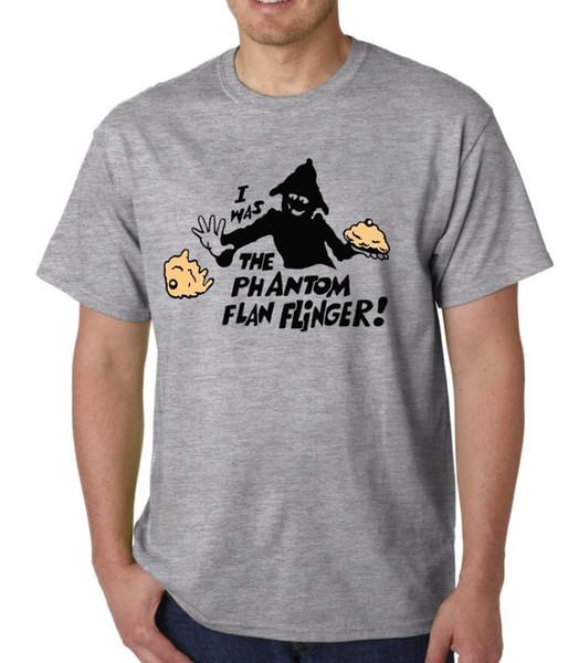 2018 Crossfit T Shirts TISWAS I Was The Phantom Flan Flinger t-shirt 70's 80's KIDS CHILDRENS TV CULT Anime Casual Clothing
