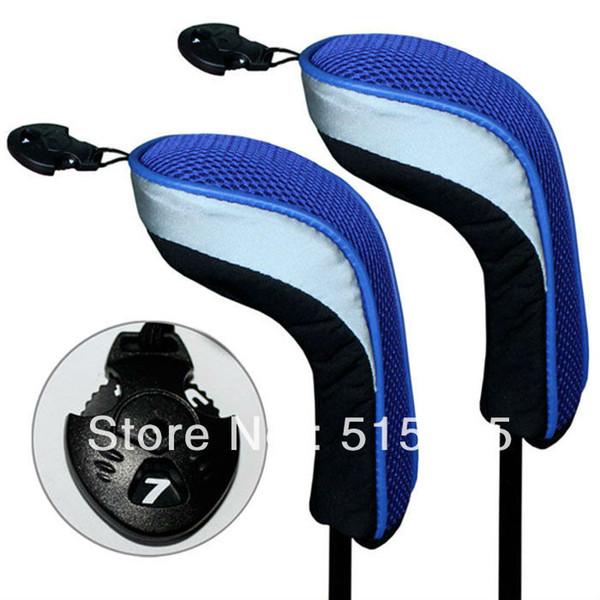 Cabeças de clube híbrido Andux 2 pcs Golf preto cabeça azul cobre intercambiáveis não. Tag MT / hy04