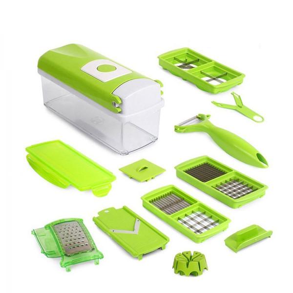 Neue 12 In 1 Mehrzweck Obst Gemüse Werkzeuge Hobel Cutter Peeler Dincer Küche Zubehör Kochen Werkzeuge
