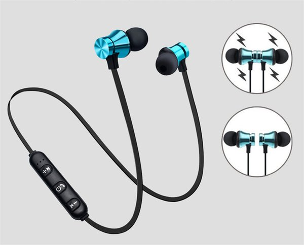DHL XT11 Bluetooth Kopfhörer Magnetic Wireless Running Sport Ohrhörer Headset BT 4.2 mit Mic MP3 Ohrhörer für iPhone LG Smartphones in Box