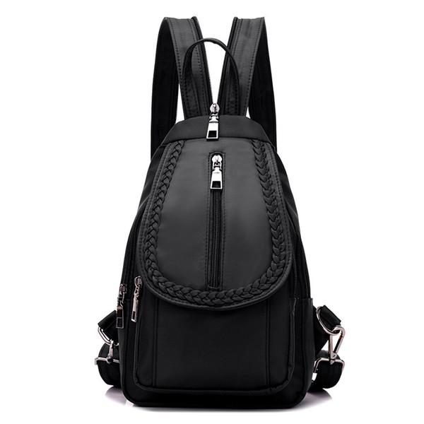 Women Chest Pack Shoulder Bag Sling Bag Morning Jogging Crossbody Bag Casual Oxford Daily Small Backpack