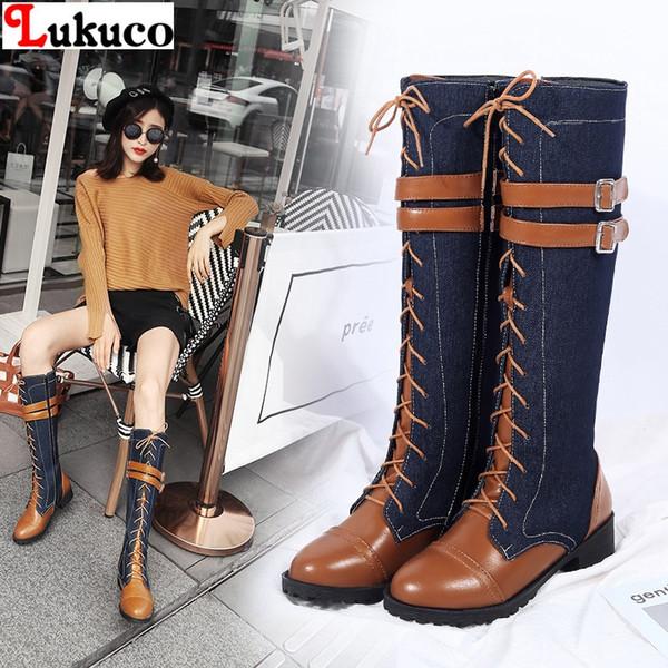 Steel Boots 15 Loch blau, Größe:12 (46): : Schuhe