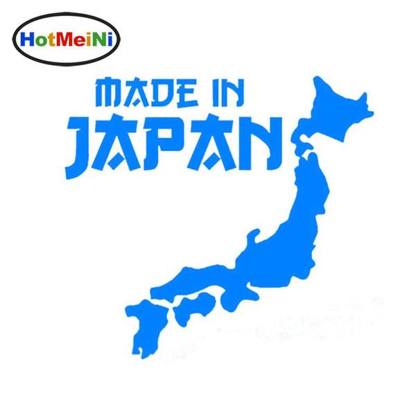 En gros Car Styling Made In Japan JDM Autocollant De Voiture Noir / Argent Vinyle Décoration