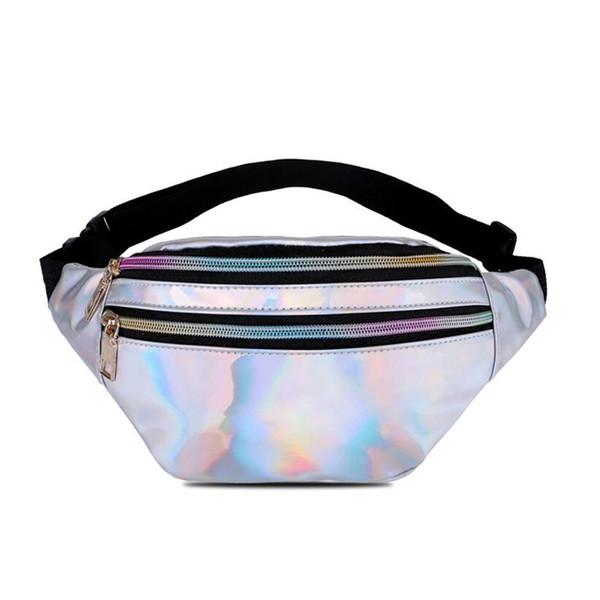 Fanny Pack For Women Belt Bag 2018 NEW Leg Bag Waist Pack Bolsas Feminina Waist Women Hip Reflective laser Shoulder ba