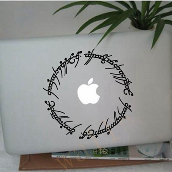 """Free shipping hobbit stickers 6"""" Elvish circle decal inspired by The Lord of the Rings for Macbook, Laptop, etc.."""