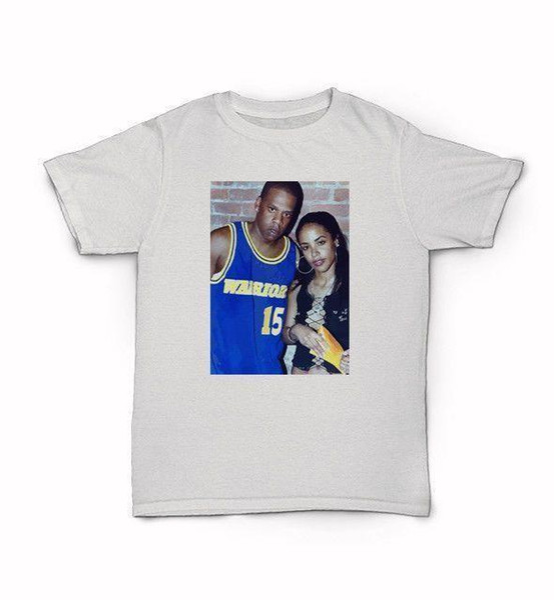 Jay-Z And Aliya T-Shirt hip hop