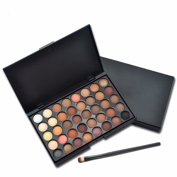 40 Color Eyeshadow Palette Silky Powder Professional Make up Pallete Product Cosmetics Smoky/Warm Makeup Eye Shadow