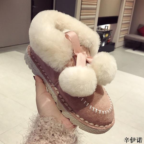 f71eeb9d0040 Botas femininas women boots 2019 new arrival cute women winter boots warm  snow fashion platform shoes
