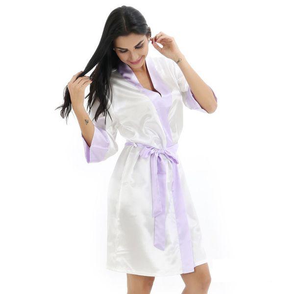 Bord violet blanc