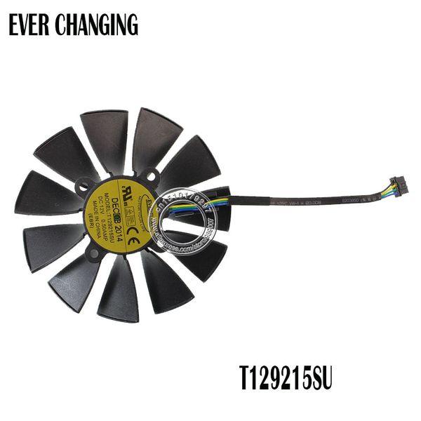 EVERFLOW T129215SU ASUS GTX780 GT Için 12 V 0.5A 95mm VGA Fan GTX780TI R9 Grafik Kartı Soğutma Fanı