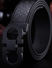 2018 New Fashion Mens Business Belts Luxury Ceinture Automatic Buckle Genuine Leather Belts For Men Waist Belt Free Shipping