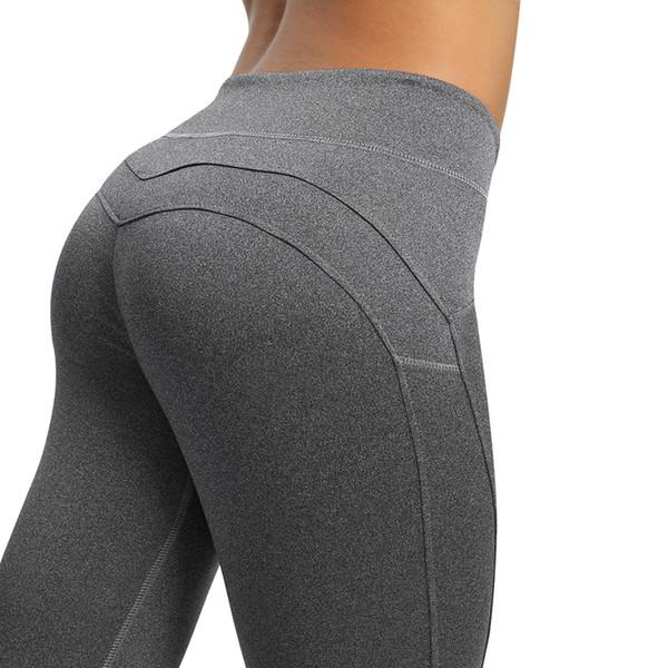 Women Workout Push Up Legging Femme Fashion Fitness Leggings Femme Solid Heart leggings V waist Womens trousers