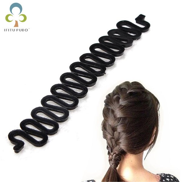 hair curler French Hair Roller clip With Hook Magic Twist Styling Braiding Tool Bun Maker style tools M4