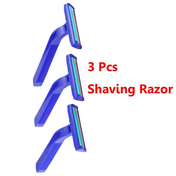 3 Pcs/Set Disposable Shaving Razor Blades Holder Men Women Travel Shaver Razor Blades Face Care Underarm Body Hair Removal