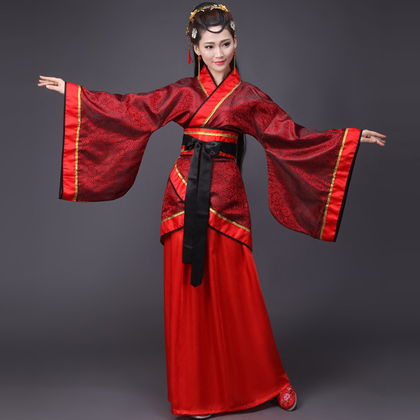 Chinese Traditional Tang Dynasty Ancient Costume Women Hanfu Dress Chinese Fairy Dresses China Clothing Female Clothes DN2128