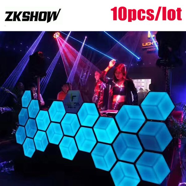 Spara Coriandoli 3D Bienenwabe LED Hochzeit Tanzboden 5050 SMD 3IN1 DJ Disco Party Hotel Dekoration Bühneneffekt Beleuchtung 230 V Kostenloser Versand