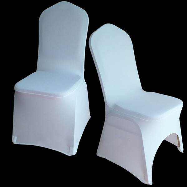 30 Colors Spandex Wedding Decoration Chair Covers for Weddings Banquet Folding Banquet Hotel Kitchen Accessories Craft Supplies