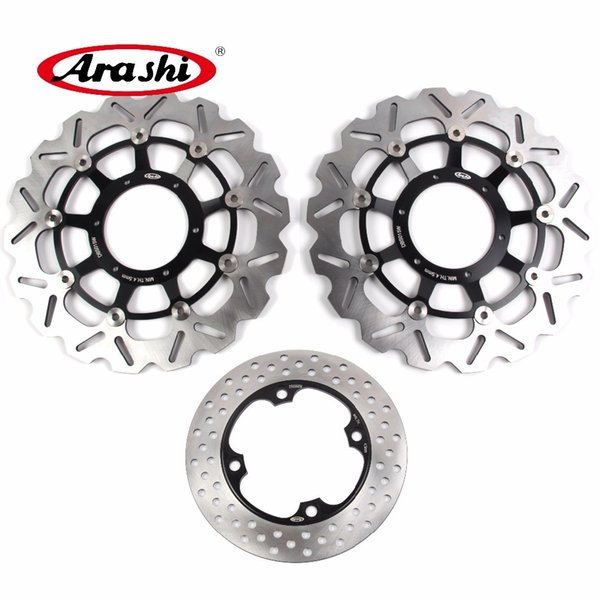 Arashi For HONDA CBR 600 RR 2003 - 2015 Front Rear Brake Disk Disc Rotor Kits CBR600RR CBR600 600RR 2007 2008 2009 2010 2011