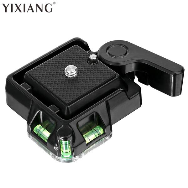 YIXIANG Caméra Caméscope Trépied Monopode Rotule Rotation Rapide Plaque QR pour DSLR Caméra Trépied Rotule