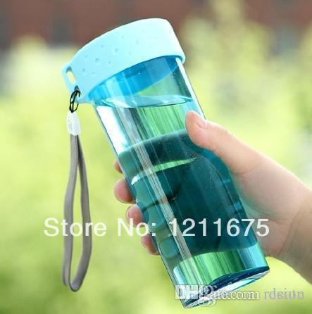 Wholesale- Eco-friendly Portable Creative No leaking With hanger Water Bottle/Glass