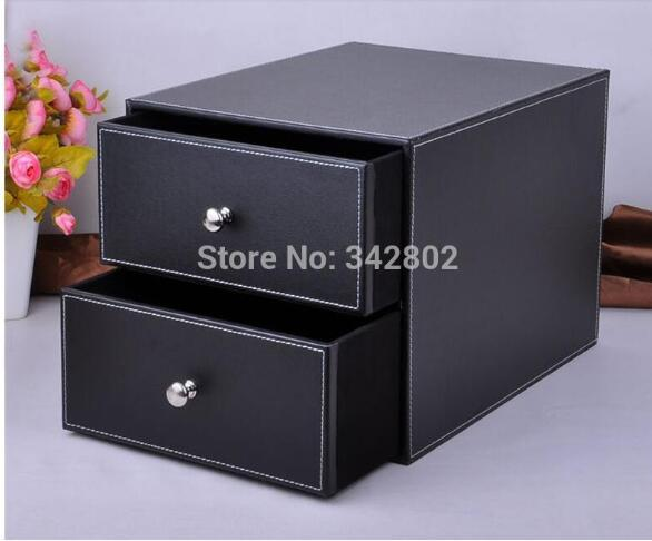 School & Office Supplies Desk Accessories & Organizer Pen Holder Leathe010colors choose Material black and brown 09 colors