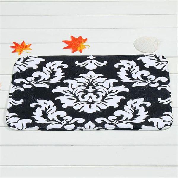 1PC Soft Bathroom Kitchen Toilet Mat Carpet Machine Washable Door Mat Floor Carpet for Living Room