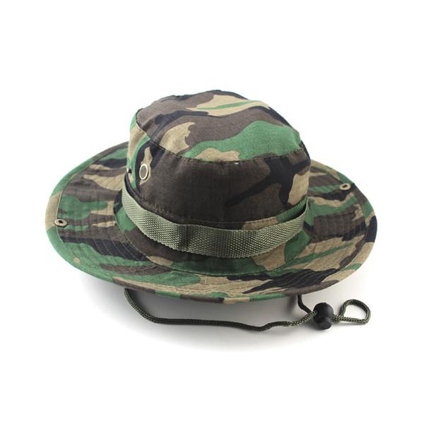 New Handsome Men Women Hat Wide Brim Unisex Summer Hat for Hunting Hiking Camping Climbing Outdoor Sport Caps Camo Fisherman Cap