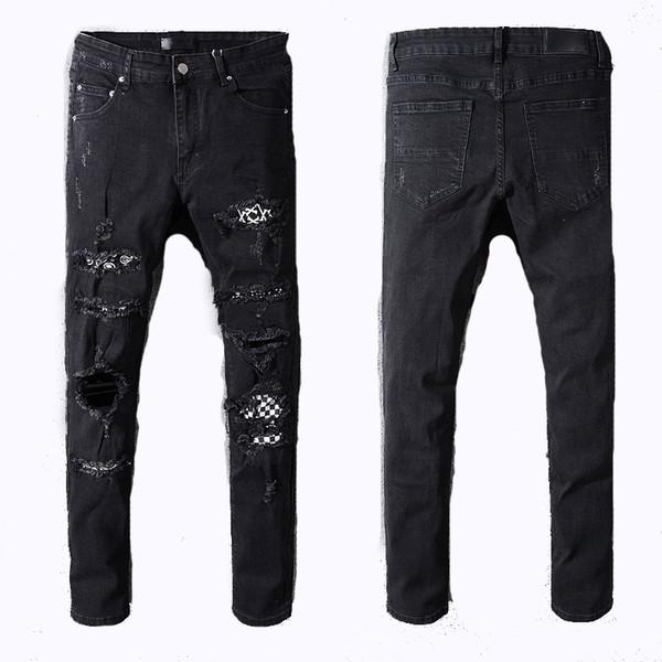 Moda MIRI Kısa Pantolon Erkekler Gevşek Denim Erkek Kadın 2018 Yeni Avrupa Düz Tasarımcı Kot Erkekler