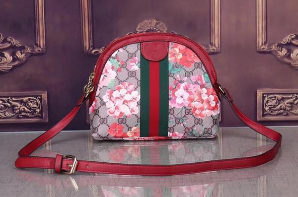 2018 estilos bolso del diseñador famoso marca bolsos de cuero de moda bolsas de asas de las mujeres bolsas de señora bolsos monedero G1806 #