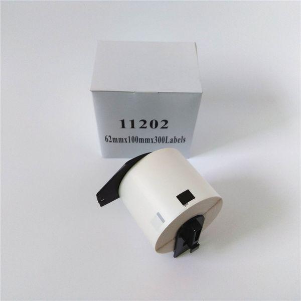 top popular 4 x Rolls Brother DK 11202 DK-11202 DK 1202 DK-1202 DK11202 DK1202 Compatible Thermal Labels QL 570 580 700 710 800 820 1050 2021