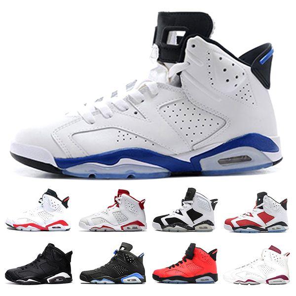 2018 6 6s toro red basketball shoes men black cat Infrared Alternate Hare Carmine Sports blue Olympic Oreo men Sneaker trainer shoe online
