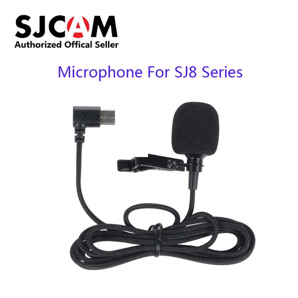 Caméra sport Photo Vidéo Action Caméras Accessoires CAM 8 Série Accessoires Type-C Microphone externe pour SJ8 Air SJ8 plus SJ8 Pro Sports