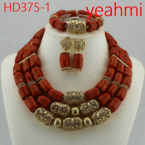 Lovely Purple Single African Women Beads Jewelry Set Nigerian African Beaded Necklace Set Handmade Style Free Shipping HD375-2