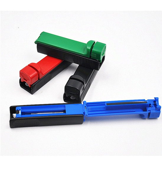 free shipping USA filter tube injector Single tube Cigarette Rolling Injector Hand Tobacco Roller Maker cigarette rolling machine Handroll