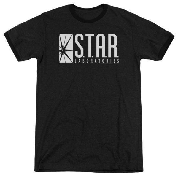 Flash Star Labs Взрослых Звонарь Футболка