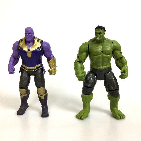 2 stil rächer 3 unendlichkeit krieg figur spielzeug 2018 neue thanos hulk joint filme bewegliche actionfigur spielzeug b