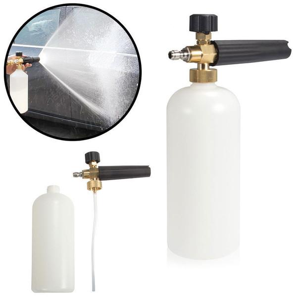 Foam Lance Snow Cannon Pressure Washer Gun Car Foamer Wash Quick Adapter Jet 1L