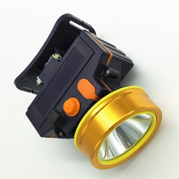 Double lithium battery glare led high power charging waterproof headlights hunting fishing lights outdoor wearing flashlight factory wholesa
