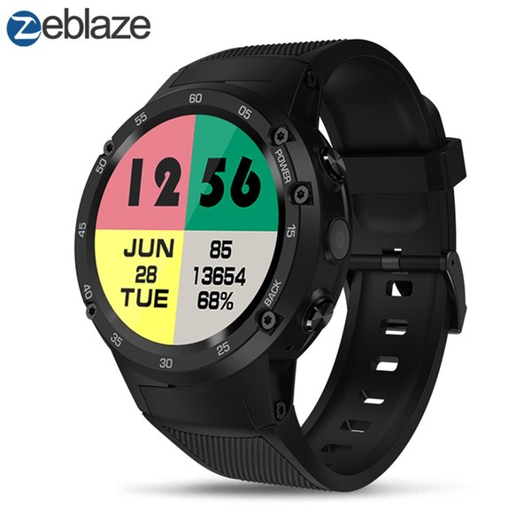 Zeblaze Thor 4 4G LTE GPS Sport Watches WiFi Android Smart Watch Phone Camera Men Digital Smartwatch Sportwatch Male Wristwatch
