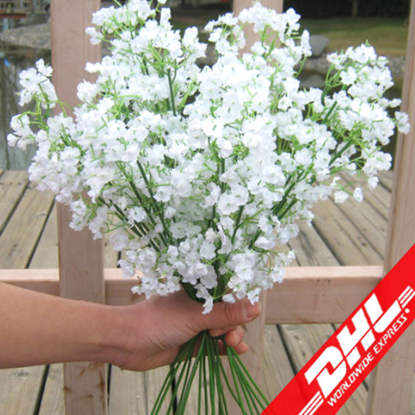 best selling artificial silk flower Plant Home Wedding Decoration decorative flowers bridal bouquet decoration wedding flowers Free shipping DHL