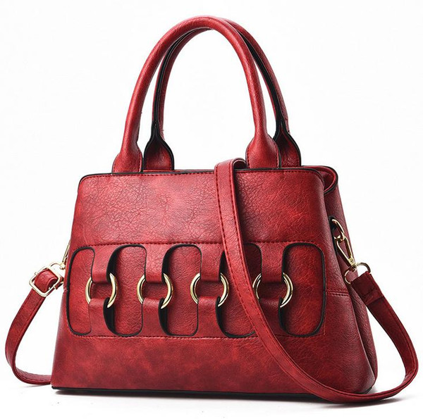 The hottest brand recommended luxury ladies handbags Stylish high quality shoulder bag Mommy Messenger bag cheap sale Free shipping