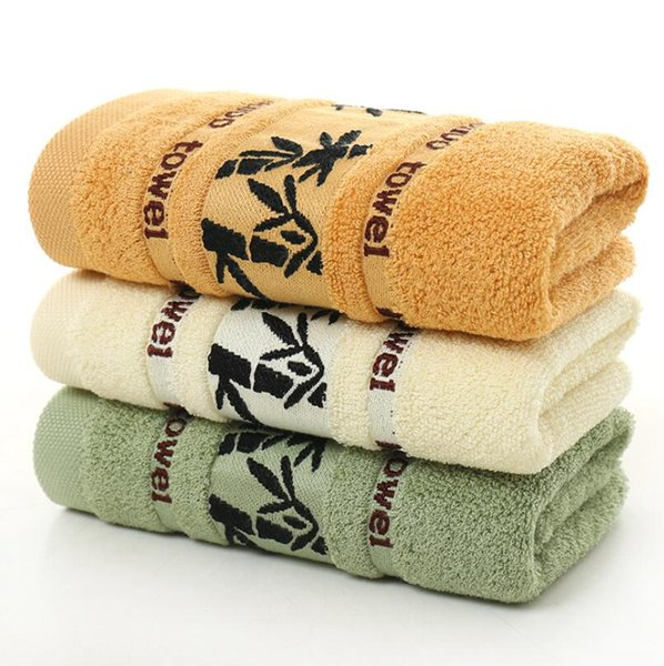 Free shipping 35 * 75 bamboo charcoal black ink bamboo household towel