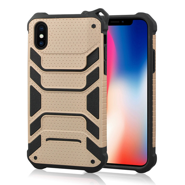 Newest Armor Hybrid for iphone 8 case Spiderman duty phone case 2 in 1 TPU+PC shockproof mobile case cover back shell