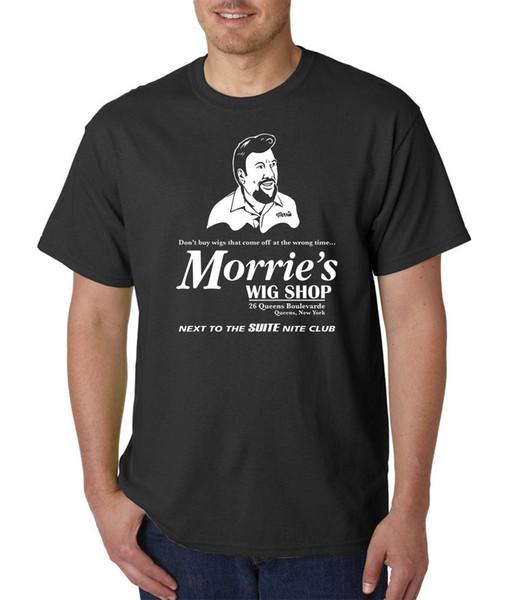 Morrie's Wig Shop T Shirt - Goodfellas The Godfather Scarface Casino Funny Mafia Mens 100% Cotton Plus Size T Shirt