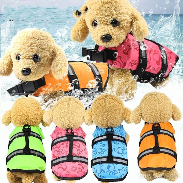 Pet Supplies Life Jacket Summer Pratical Dog Clothes Swimsuit Accessories Multi Sizes Easy To Wear High Quality 20gg5 Ww