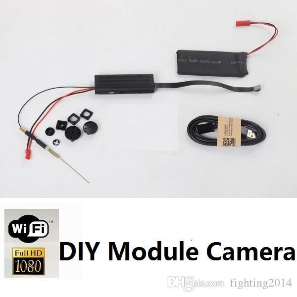 Full HD 1080p WIFI DIY Module DVR mini IP Camera P2P Motion Detection Audio Video Recorder Button Camera Wireless Surveillance Network Cam